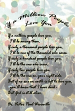 If a Million People Love You