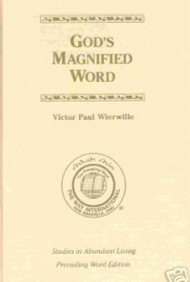 God's Magnified Word (Studies in Abundant Living, Volume IV)