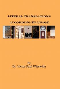 Literal Translations According to Usage
